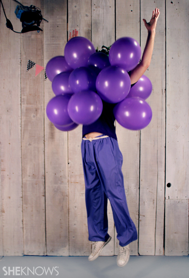 Halloween costume ideas: Fruit of the Loom grapes