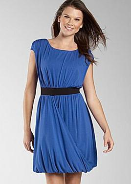 Grecian Wrap Drape Dress