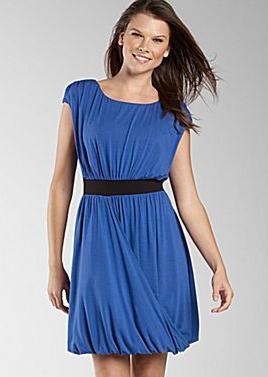 Grecian Wrap Drape Dress