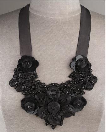 Greenbeads bib necklace