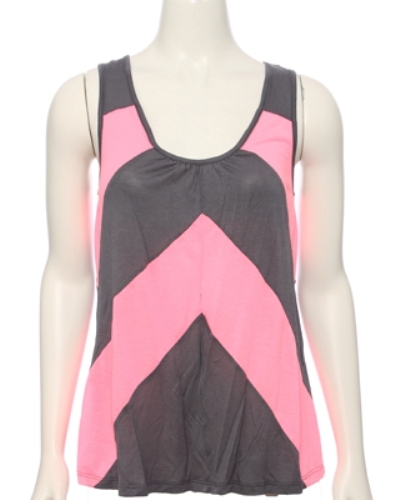 Diagonal Pattern Tank Top