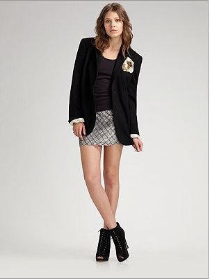 Gryphon mini skirt