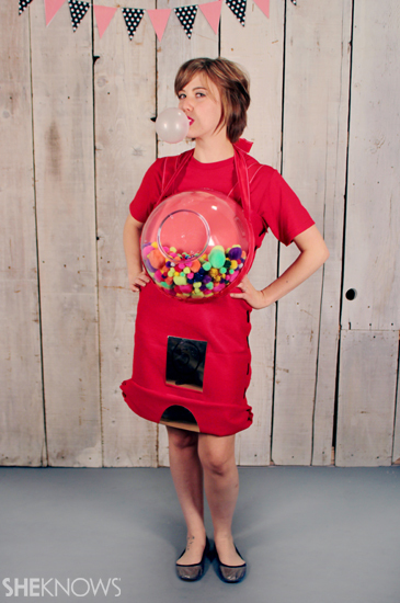 Halloween costume ideas: Gumball machine