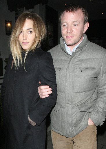 Guy Ritchie and his girlfriend