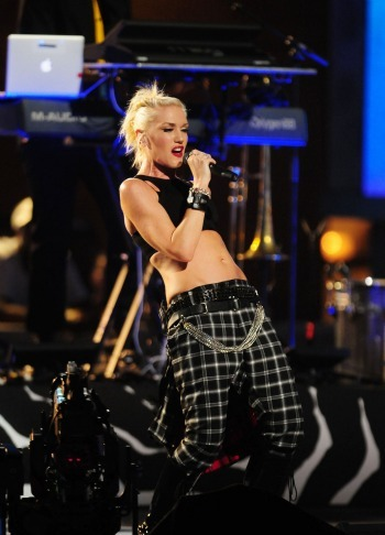 Gwen Stefani at the NFL Kick-Off Concert