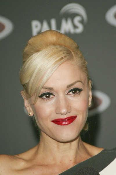 Gwen Stefani Ponytail with Bangs