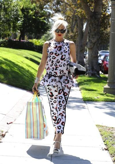 Gwen Stefani steps out
