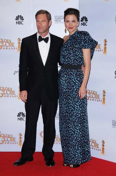 Aaron Eckhardt and Maggie Gyllenhaal
