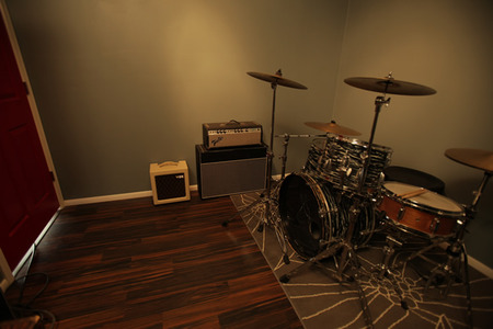 AFTER: Music studio