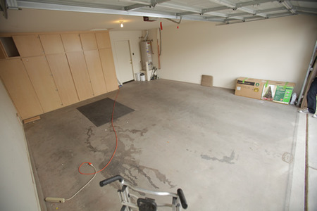 BEFORE: Garage