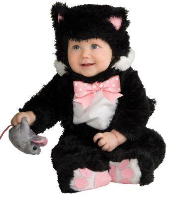 Black Kitty Infant Costume