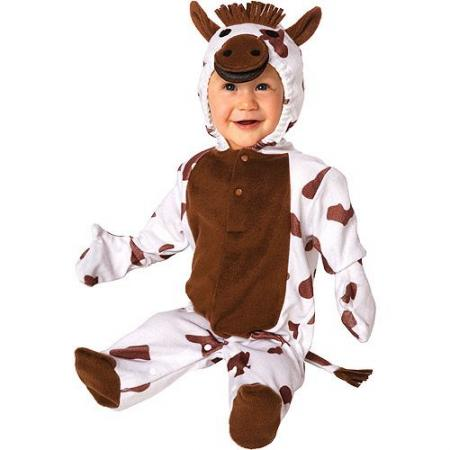 Plush Horse Infant Costume