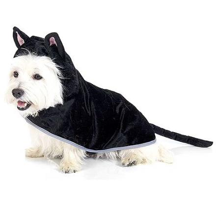 Black Cat Costume for Dogs