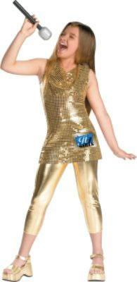 Camp Rock - Gold Costume