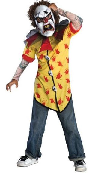 Horrorland Clown Screamer Costume