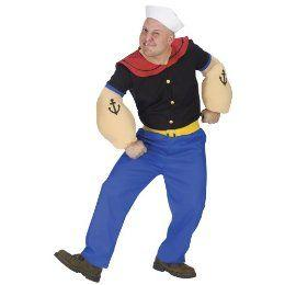 Men's Popeye Costume