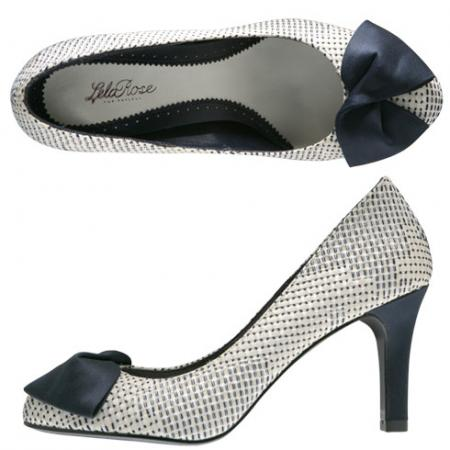 Hampton Woven Bow Pump