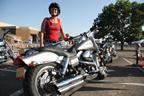 Harley-Davidson motorcycle demos