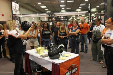 Harley-Davidson's Women's Booth at Daytona Bike Week