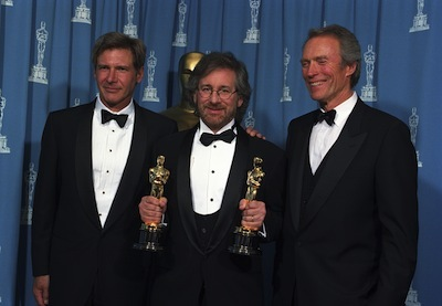 Harrison Ford, Steven Spielberg and Clint Eastwood