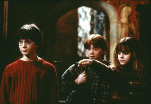 Scene from Harry Potter and the Sorcerer&#039;s Stone