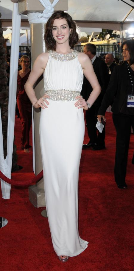 Anne Hathaway at the 2009 SAG Awards