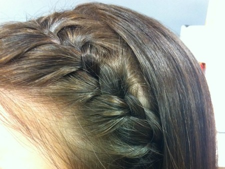 Step 4: Secure the braid