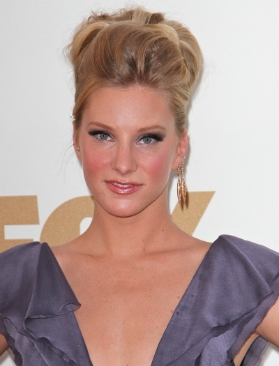 Heather Morris' Poofy Updo