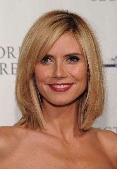 Heidi Klum's new haircut.