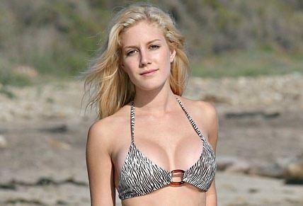 Heidi Montag bikini model