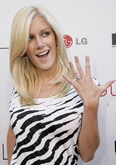 heidi montag wedding ring. Heidi Montag