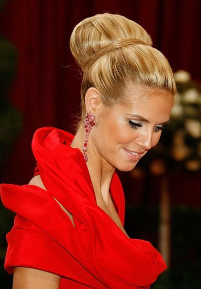 heidi klum hair updo. Heidi Klum Hair