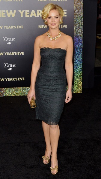 Katherine Heigl in diamond choker
