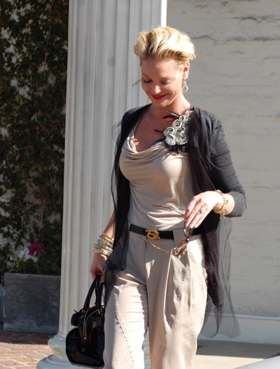 Katherine Heigl&#039;s feminine style
