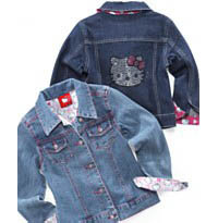 Hello Kitty Kids Denim Jacket