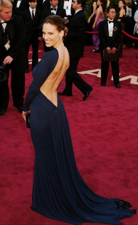 Hilary Swank - 2005 Oscars