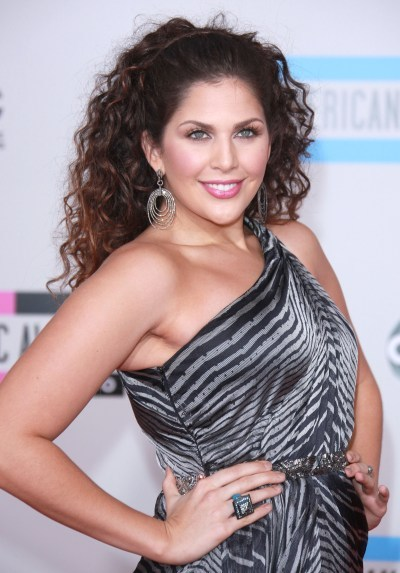 Hillary Scott's curly, sexy hairstyle