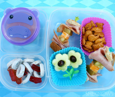 Hippo bento box lunch