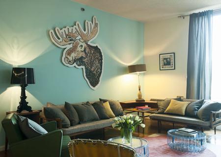 home by novogratz hoboken apartment living room