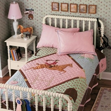 Bedroom on Horse Themed   Girls  Bedroom Ideas