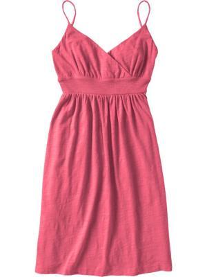 Cross-Front Knit Dresses