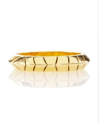 House of Harlow 1960 gold ring