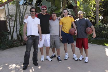 Househusbands of Hollywood Cast Plays Basketball