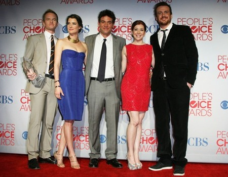 "Cast of ""How I Met Your Mother""  at the 2012 People's Choice Awards"