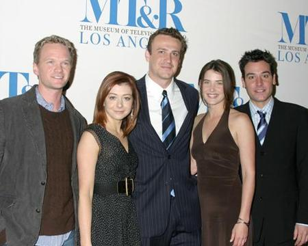 The Gang at the Premiere of ' How I Met Your Mother '