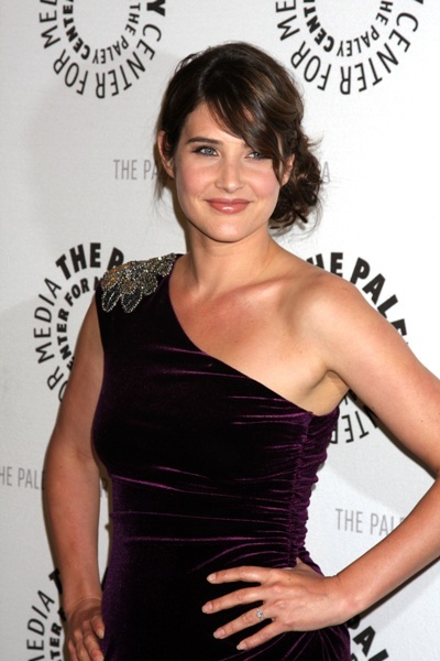 Cobie Smulders  of 'How I Met Your Mother' at the 100th episode celebration