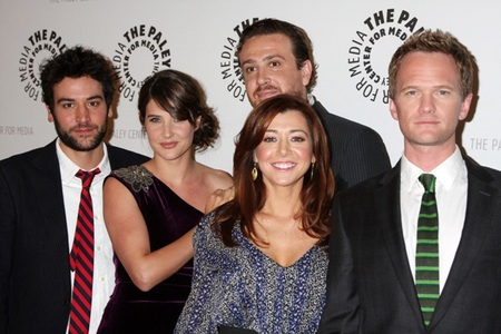 "Cast of ""How I Met Your Mother"" at the 100th episode celebration"