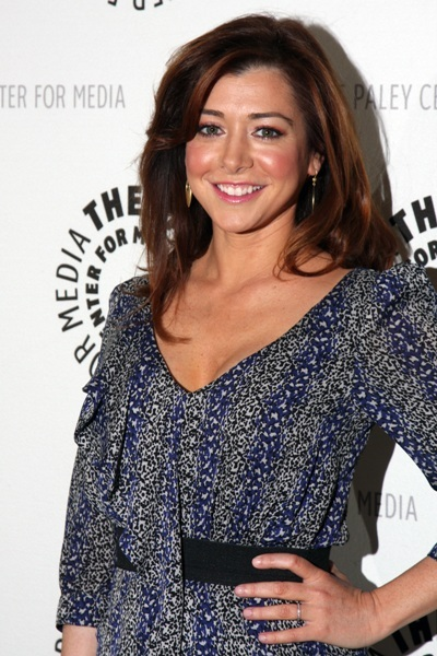 Alyson Hannigan of &#039;How I Met Your Mother&#039; at the 100th episode celebration