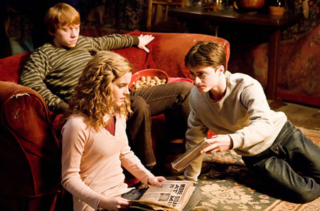Scene from Harry Potter and the Half Blood Prince