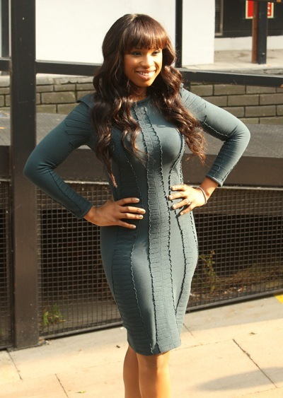 Jennifer Hudson in long sleeves